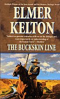 The Buckskin Line (Texas Rangers) Cover