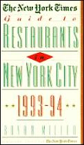 New York Times Guide To Restaurants