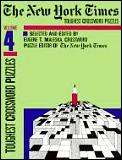 New York Times Toughest Crossword Puzzles Volume 4