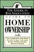 American Bar Association Guide To Ho