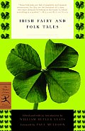 Irish Fairy and Folk Tales (Modern Library Classics) Cover