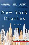 New York Diaries: 1609 to 2009 Cover