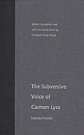 The Subversive Voice of Carmen Lyra: Selected Works