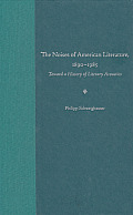 The Noises of American Literature, 1890-1985: Toward a History of Literary Acoustics