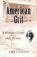 American Grit A Womans Letters from the Ohio Frontier