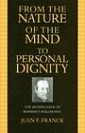 From the Nature of the Mind to Personal Dignity: The Significance of Rosmini's Philosophy