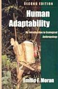 Human Adaptability An Introduction To Ecologica