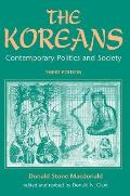 Koreans : Contemporary Politics and Society (3RD 96 Edition)