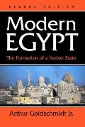 Modern Egypt The Formation Of A Nation State