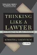 Thinking Like a Lawyer An...