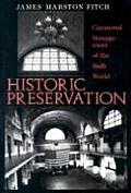 Historic Preservation Cover
