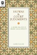 Fatwas & Court Judgments: A Genre Analysis of Arabic Legal Opinion