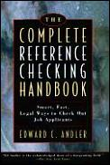 Complete Reference Checking Handbook S