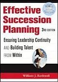 Effective Succession Planning Ensuring Leadership Continuity & Building Talent from Within With CDROM