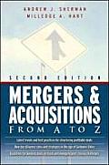 Mergers & Acquisitions From A To Z