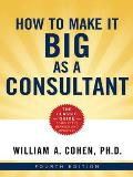 How To Make It Big As A Consultant 4th Edition