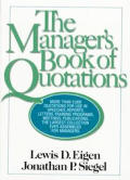 Managers Book Of Quotations