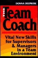Team Coach Vital New Skills For Supervis
