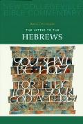 New Collegeville Bible Commentary #11: The Letter to the Hebrews: Volume 11 Cover