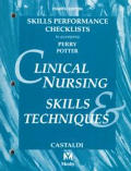 Clinical Nursing Skills & Techniques: Checklists