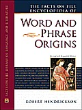 Facts On File Encyclopedia Of Word & Phrase Orig