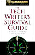 Tech Writers Survival Guide A Comprehensive