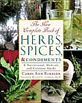 New Complete Book Of Herbs Spices & Cond