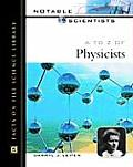 A to Z of Physicists (Notable Scientists) Cover