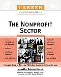 Career Opportunities in the Nonprofit Sector