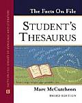 The Facts on File Student's Thesaurus (Facts on File)
