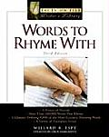 Words to Rhyme With, Third Edition