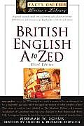 British English A to Zed (Facts on File Writer's Library) Cover