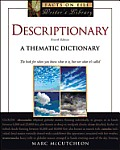 Descriptionary: A Thematic Dictionary, Fourth Edition (Facts on File Writer's Library)