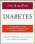 The A to Z of Diabetes (Library of Health and Living Library of Health and Living) Cover