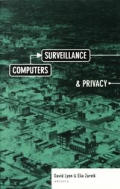 Computers, Surveillance, and Privacy (Minnesota Archive Editions)