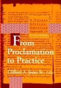 From Proclamation to Practice: A Unique African American Approach to Stewardship