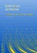 Signal Analysis and Prediction (Applied and Numerical Harmonic Analysis)