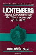 Lichtenberg: Essays Commemorating the 250th Anniversary of His Birth
