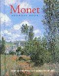 Monet Postcard Book #1: Monet Address Book