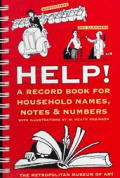 Help: A Record Book for Household Names, Notes & Numbers
