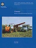 Ukraine: Review of Farm Restructuring Experiences