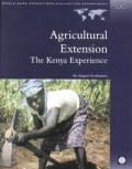 Agricultural Extension: The Kenya Experience (Independent Evaluation Group Studies)