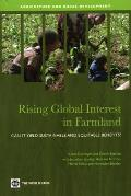 Rising Global Interest in Farmland: Can It Yield Sustainable and Equitable Benefits? (Agriculture and Rural Development)