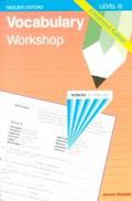 Vocabulary Workshop Level G Enhanced Edition