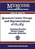 Quantum linear groups and representations of GLn