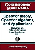 Operator theory, operator algebras, and applications; proceedings