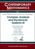 Complex Analysis & Dynamical Systems III
