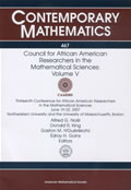 Council for African American Researchers in the Mathematical Sciences: Volume V