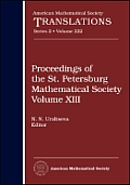 Proceedings of the St. Petersburg Mathematical Societyv. 13