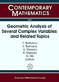 Geometric Analysis of Several Complex Variables & Related Topics Marrakesh Workshop